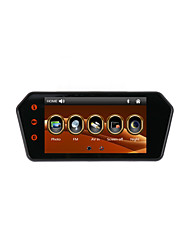 Touch Screen 7 Inch Car MP5 Rearview Mirror Monitor with Bluetooth/FM/USB/TF Card Support 1080P Video Player And Camera