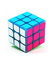 cheap -Rubik's Cube z-cube Luminous Glow Cube 3*3*3 Smooth Speed Cube Magic Cube Stress Reliever Puzzle Cube Glow in the Dark User Manual