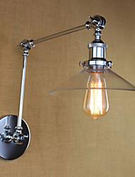 Недорогие -AC 220-240 AC 110-120 40 E26/E27 Винтаж Ретро Деревенский Особенность for Мини Лампа входит в комплект,Рассеянный настенный светильник