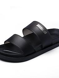 economico -Da uomo Pantofole e infradito Innovativo Pantofole e flip-flop Pelle OVC Estate Casual Piatto Nero Rosso Blu Piatto