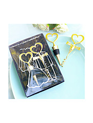 50th Wedding Anniversary Bottle Stopper and Opener Wine set Favor Beter Gifts® Life Style