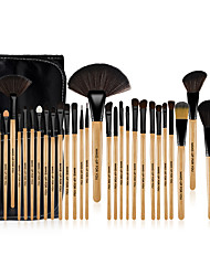 cheap -Make-up For You® 32pcs Makeup Brushes set  Limits bacteria/Professional Wood Blush/shadow/Concealer BrushMakeup KitCosmetic Brushes