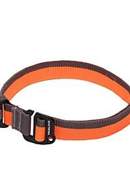 levne -Pes Bandana na krk Protiskluzový Nastavitelná Bezpečnost Jednobarevné Síť Nylon Černá Oranžová Žlutá Červená