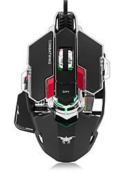 cheap -Combatwing Gaming Mouse 4800 DPI Optical USB Wired Professional Gaming Mouse Programmable 10 Buttons RGB Breathing LED Mice for Mac PC