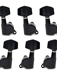 cheap -Black Sealed Guitar Tuning Pegs 3R 3L Tuner Machine Head for Electric/Acoustic Guitar High Quality Guitar Parts & Accessories