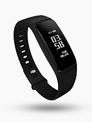 cheap -Smartwatch V07 for iOS / Android Heart Rate Monitor / Blood Pressure Measurement / Calories Burned / Long Standby / Touch Screen Sleep Tracker / Find My Device / Water Resistant / Water Proof / 64MB
