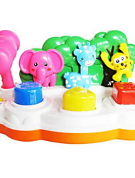 Toy Instruments Toys Square Musical Instruments Animal Plastics Hard plastic Pieces Kid Unisex Gift