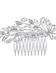 cheveux en alliage peignes bandeau mariage élégant style féminin
