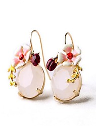 Women's Stud Earrings Rhinestone Sexy Cute Style Oversized Fashion Personalized Alloy Flower Jewelry Jewelry ForParty Other Daily Holiday