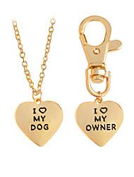 cheap -Men's / Women's Bohemian Heart Pendant Necklace - Classic / Bohemian / Handmade Geometric Gold / Silver Necklace For Party / Graduation