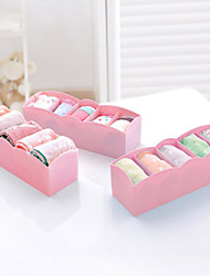 1pc Storage Boxes With5 boxes of socks and drawers Cosmetics jewelry box