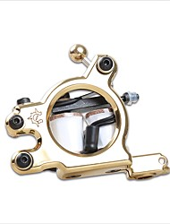 cheap -Coil Tattoo Machine Carved Liner Cast Iron Professional Tattoo Machine