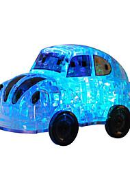 Недорогие -3D пазлы Пазлы Замок Автомобиль Знаменитое здание Архитектура 3D Пластик День рождения 6 лет и выше