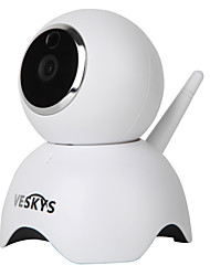 economico -veskys® 960p smart panda wifi ip camera (1.3mp hd / modello di panda cute sorveglianza di sicurezza)