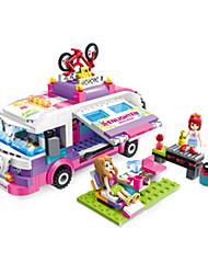 Недорогие -Магнитный конструктор Магнитные плитки Конструкторы Автомобиль Классический Fun & Whimsical Мальчики Девочки Игрушки Подарок