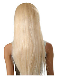 Blonde Color Dark Roots Brazilian Non-Remy Human Hair Full Lace Wig Ombre Blonde 613 Color Human Hair Wi