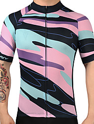 cheap -FUALRNY® Cycling Jersey Men's Short Sleeves Bike Jersey Top Bike Wear Quick Dry Breathability Road Cycling Recreational Cycling Cycling /