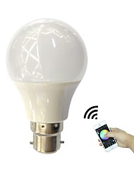 cheap -4.5W 350 lm B22 LED Smart Bulbs 3 leds High Power LED Bluetooth APP Control RGB+Warm AC110-240