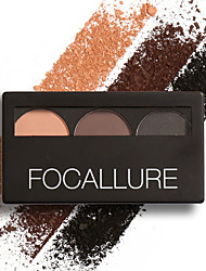 cheap -Eye Brow Powder Palette Waterproof And Smudge Proof With Mirror And Eyebrow Brushes Inside