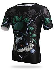 XINTOWN Fahrradtrikot Herrn Kurzarm Fahhrad Trikot/Radtrikot T-shirt Rasche Trocknung Atmungsaktivität UV-beständig Dehnbar Weichheit