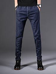 abordables -Hombre Tallas Grandes Delgado Vaqueros Pantalones - Bloques