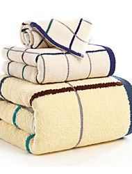 cheap -Bath Towel Set,Checkered High Quality 100% Cotton Towel