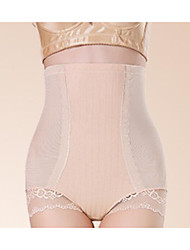 Women's Solid Shaping Panties Silk
