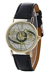 cheap -Women's Wrist watch Fashion Watch Casual Watch Chinese Quartz Hot Sale PU Band Casual Black White Blue Brown Green Pink Rose