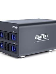 Недорогие -Unitek y-3355 usb3.0 to sata3 data hold black double hard box