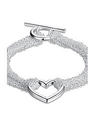 Women's Chain Bracelet Charm Bracelet Jewelry Basic Cute Style Handmade Gothic Initial Jewelry Luxury Simple Style Fashion Vintage