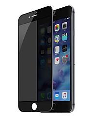 Недорогие -Защитная плёнка для экрана Apple для iPhone 8 Закаленное стекло 1 ед. Защитная пленка на всё устройство 3D закругленные углы Anti-Spy