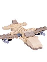 Blocos de Construir Brinquedos Barco de Guerra Peças Crianças Dom