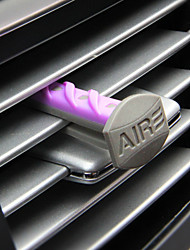 Car Air Outlet Grille Perfume  Violet  Citrus flowers  Leisurely vanilla  Fresh linen 4 Only installed  Automotive Air Purifier