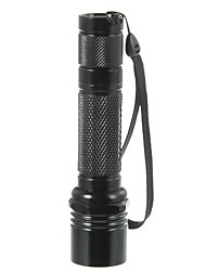 LED Flashlights/Torch LED 500 Lumens 1 Mode - 18650 16340 Travel Size High Quality Camping/Hiking/Caving Everyday Use