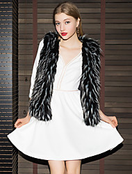 cheap -Faux Fur Wedding Party / Evening Women's Wrap Vests