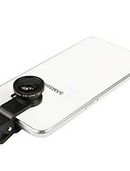 lenti della macchina fotografica dello smartphone di yizhe obiettivo di pesce dell'obiettivo di 0.67x grandangolare 10x per ipad iphone
