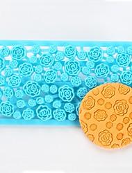 economico -1 Stampi per torta Fiore decorativo Torta Biscotti per Cookie Antiaderente Alta qualità Fai da te