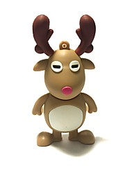 32GB Christmas USB Flash Drive Cartoon Christmas Deer Christmas Gift USB 2.0