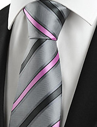cheap -Men's Polyester Necktie - Striped