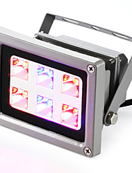 LED Grow Lights 6 High Power LED 160-200 lm Red Blue K AC85-265 V