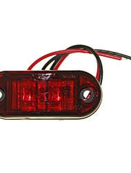cheap -Sencart 10pcs 2LED Red LED Clearance Side Marker Light Truck Car Van Trailers Lamp 9-30V
