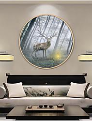 Animal Cartoon Still Life Framed Art Print Frame Art Wall Art,Wood Material With Frame For Home Decoration Frame Art Living Room Dining