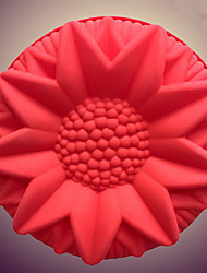 cheap -Diy Cake Pastry Moulds Cute Large Sunflower Silicone Cake Mold Bread Moulds