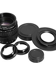 35mm f1.7 c mount c-mount cctv Objektiv c-m43 micro 4/3 Adapter Makro Ring Geschenk lf012