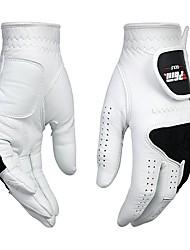 abordables -Doigt complet Unisexe Vestimentaire / Protectif Golf Gant Cuir d'agneau Coton