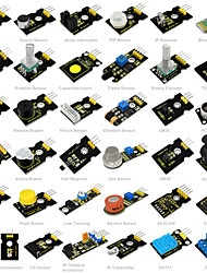 Keyestudio37 in 1 Sensor Kit(37Pcs Sensors)for Arduino Starter Kit37ProjectsPDFVideo(Works with Official Arduino