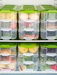 cheap -3 Layer Environmental Protection Transparent Plastic Food Storage