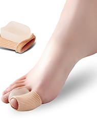 abordables -Pie Massagegerät Dedo del pie y Separadores de juanete Pad Corrector de Postura Protector Ortesis Conveniente