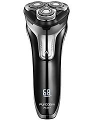 flyco fs377 máquina de barbear elétrica 100-240v carga rápida lavável