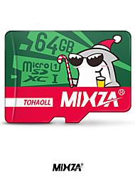MIXZA Memory Card micro sd card  64GB Class10flash card Memory Microsd for Smartphone/Tablet